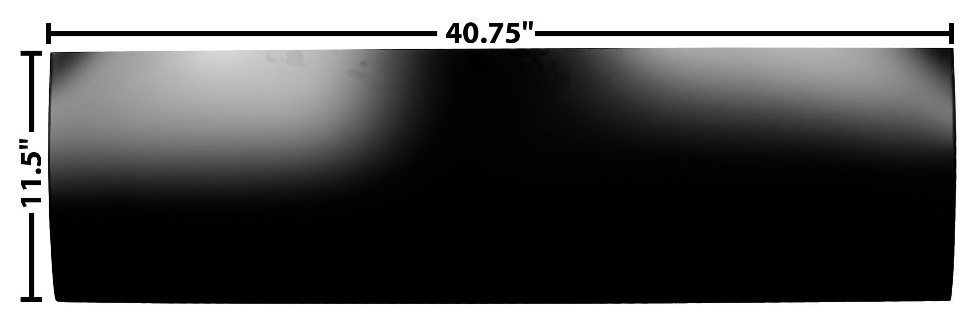 C PU 60-66 LOWER OUTER DOOR SKIN-LH=RH