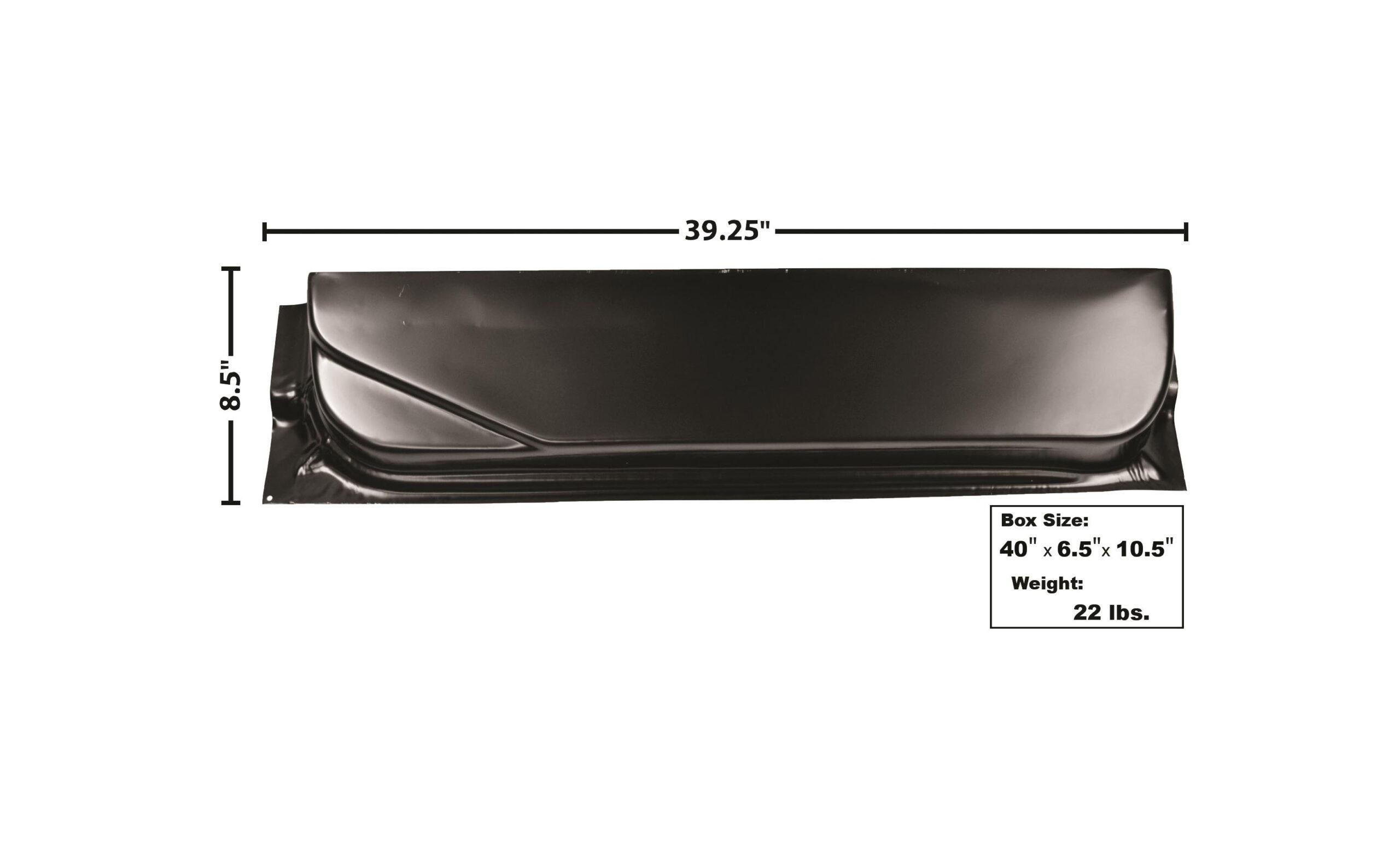F PU 67-72 DOOR BOTTOM-INNER-LH