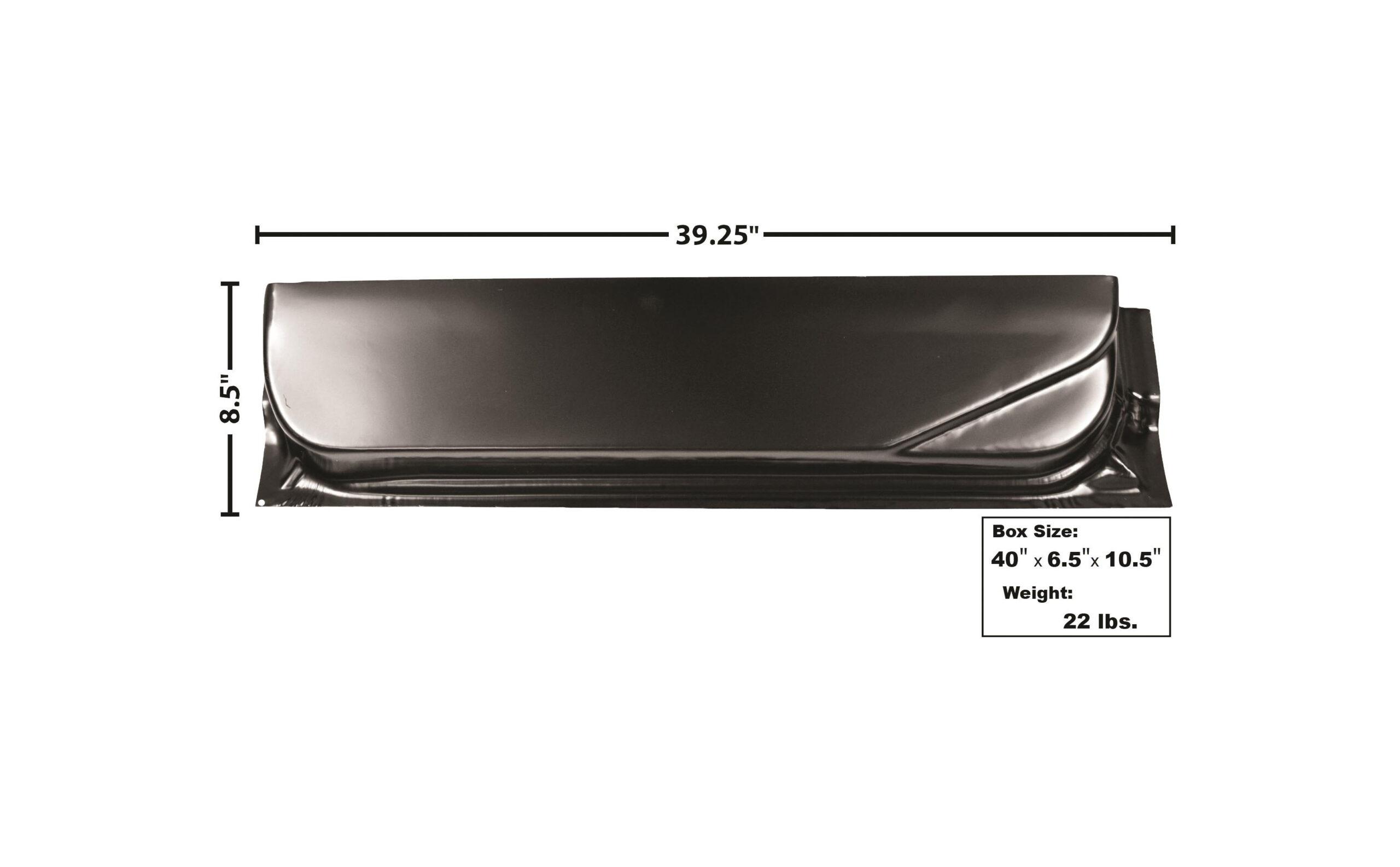 F PU 67-72 DOOR BOTTOM-INNER-RH