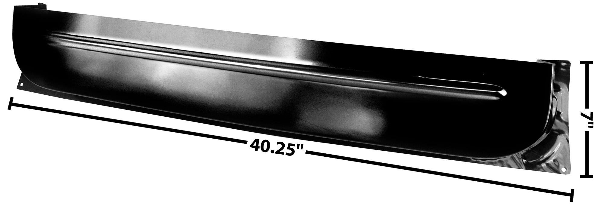 C PU 60-63 LOWER INNER DOOR PANEL-RH