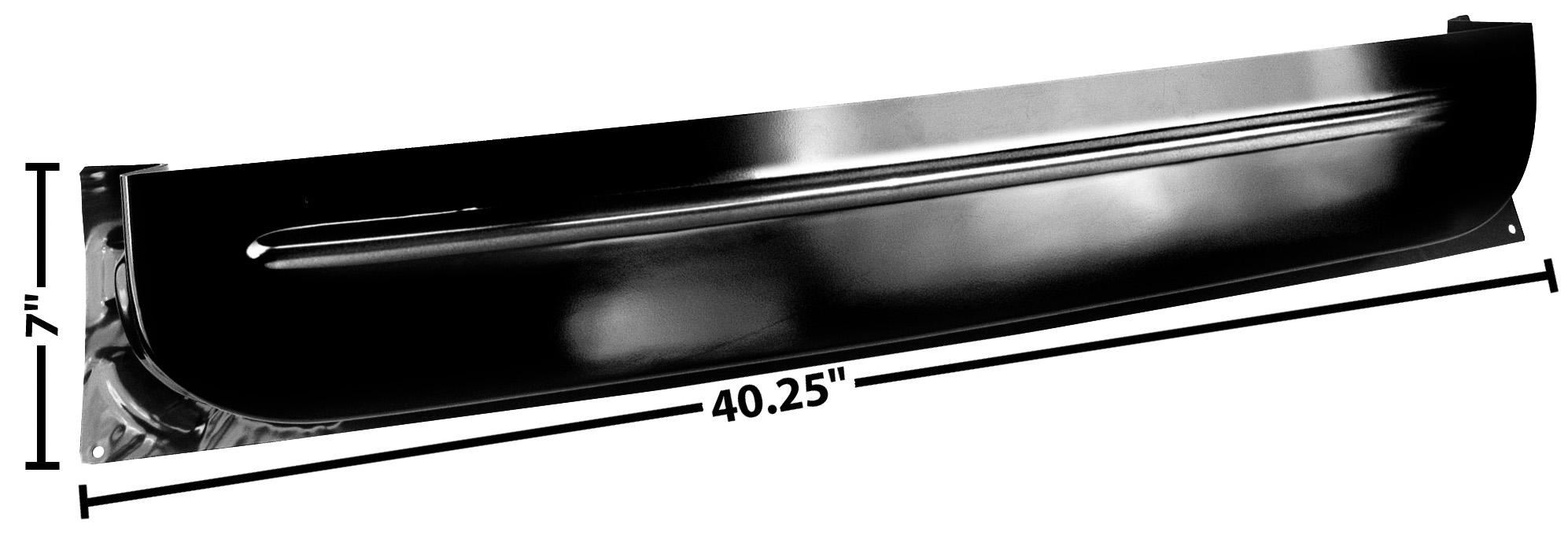 C PU 60-63 LOWER INNER DOOR PANEL-LH