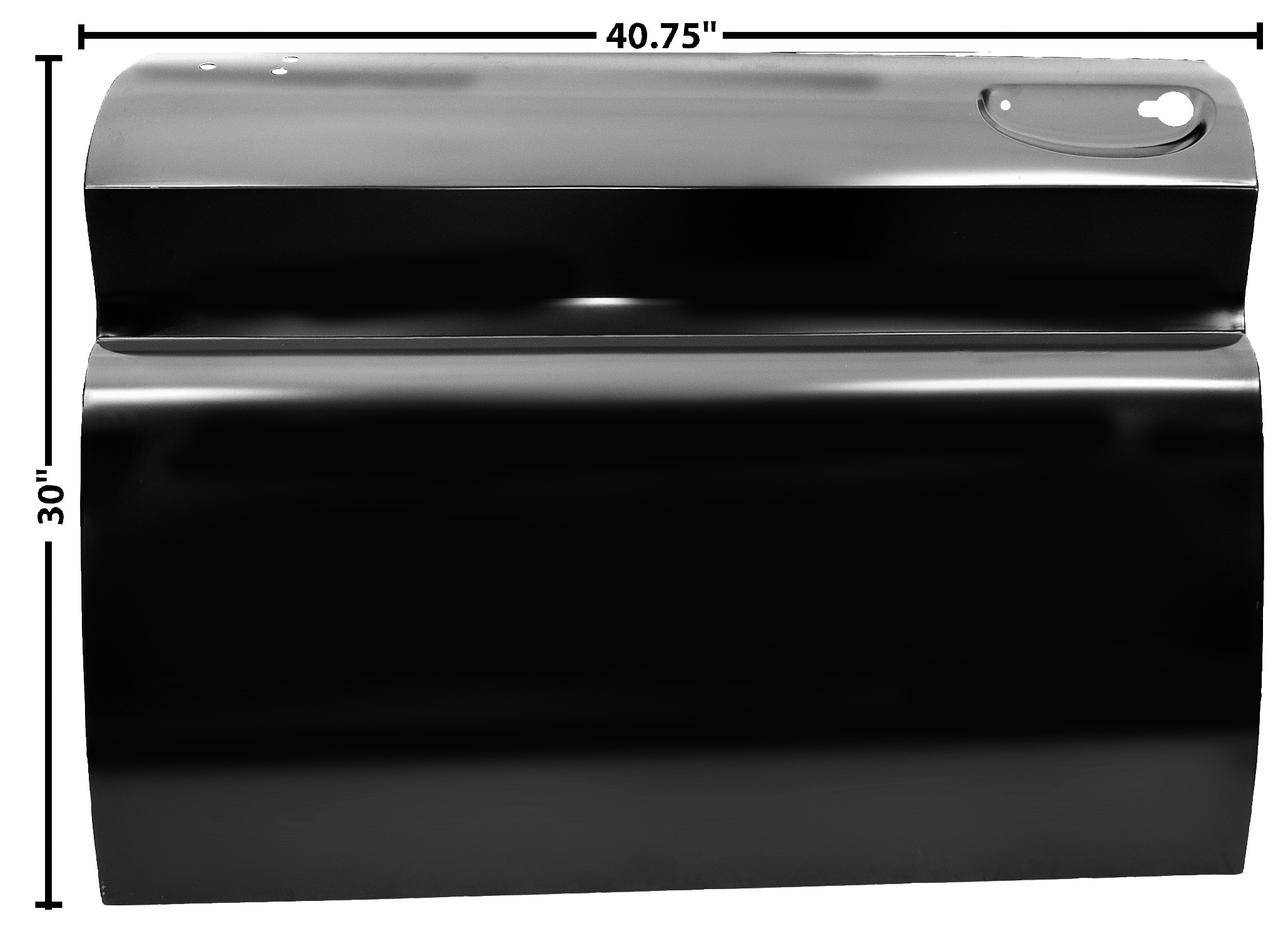 C PU 60-66 DOOR SKIN-FULL-LH