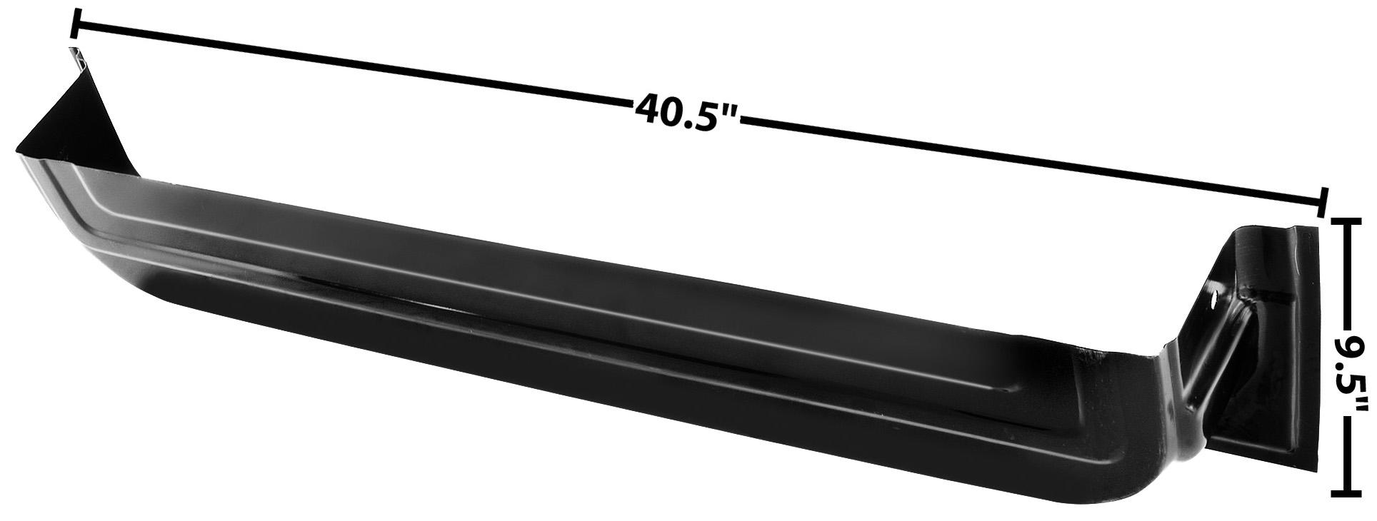 C PU 64-66 LOWER INNER DOOR PANEL-LH